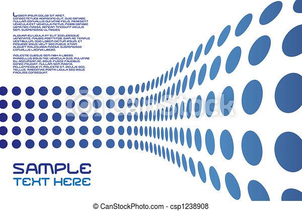Dots Wall Layout - csp1238908