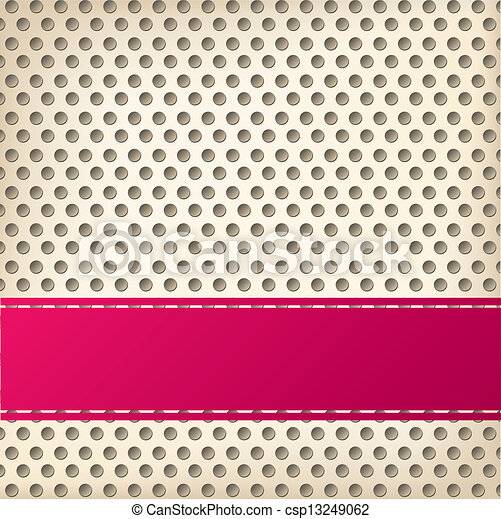 Dotted background design with 3d effect - csp13249062