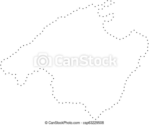 Small Map Of Spain.Dotted Stroke Spain Mallorca Island Map