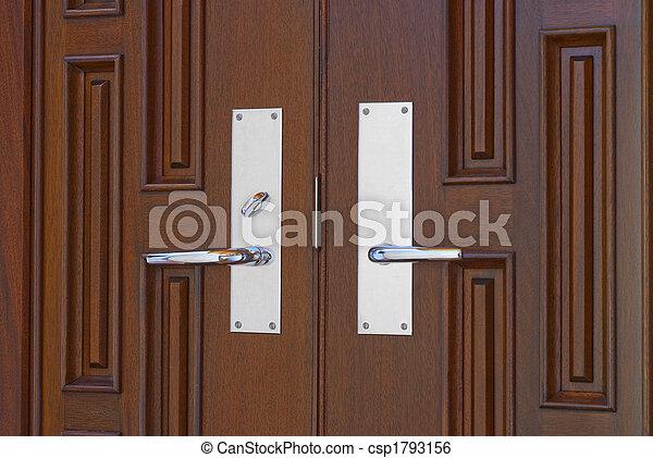 Beau Double Door Handles   Csp1793156