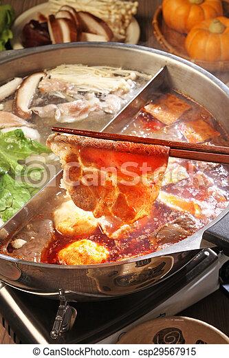 double flavor hot pot - csp29567915