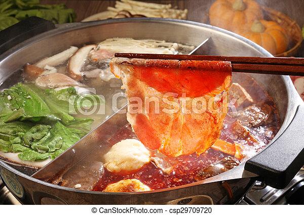 double flavor hot pot - csp29709720