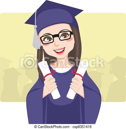 Double Graduation - csp6351416