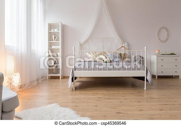 Double Spacieux Lit Chambre A Coucher Grand Lit Spacieux
