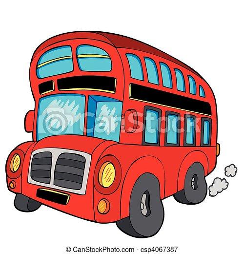 Doubledecker bus - csp4067387