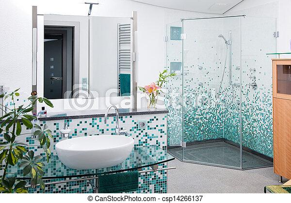 Douche licht badkamer moderne badkamer moderne douche glas