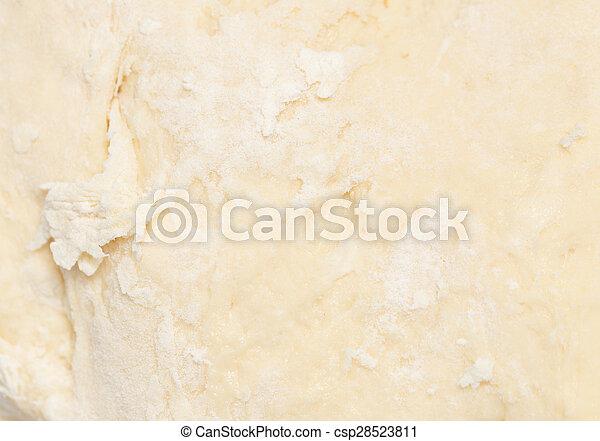 dough as background - csp28523811