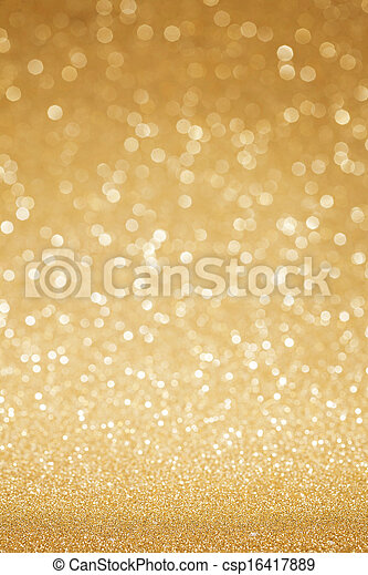 dourado, abstratos, brilhar, fundo - csp16417889