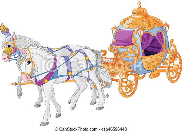 dourado, carruagem - csp46596448