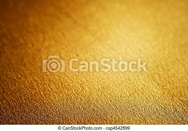 dourado, raso, dof, luxo, textura - csp4542899