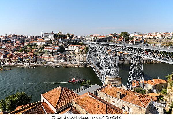 douro, rivière, porto, portugal - csp17392542