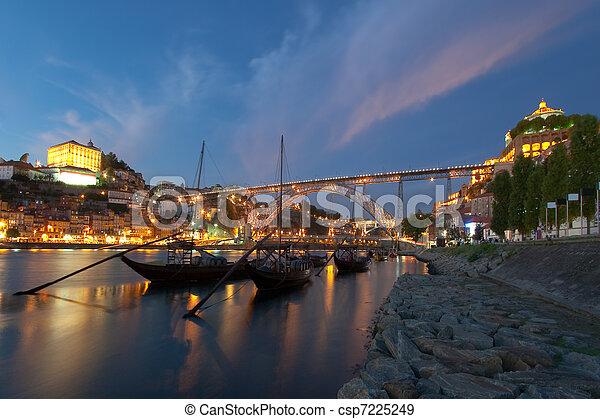 douro, rivière, porto, portugal - csp7225249