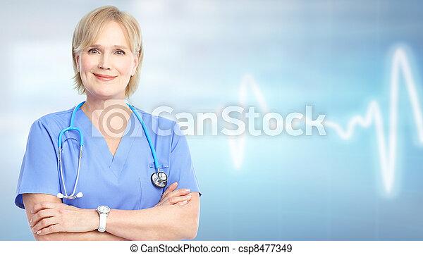 doutor., família - csp8477349
