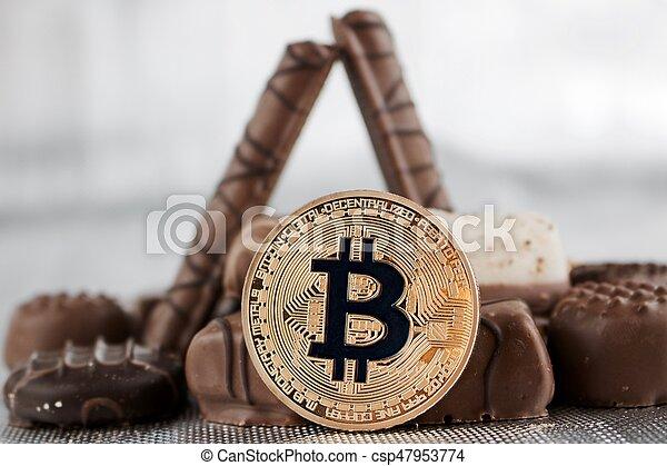 doux, concept, bitcoin - csp47953774