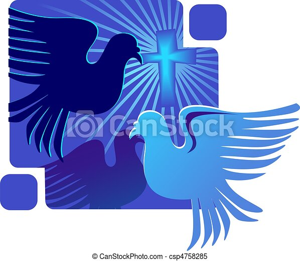 dove and cross symbol shining dove with rays on a cross Crown of Thorns Drawing Crown of Thorns Silhouette