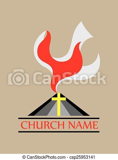 Dove fire holy spirit church art vector design eps vector search dove fire holy spirit church csp25953141 thecheapjerseys Gallery