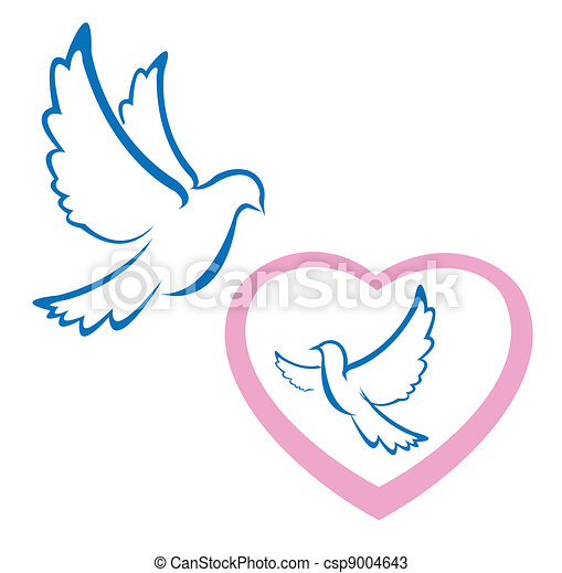 Dove Love Symbol
