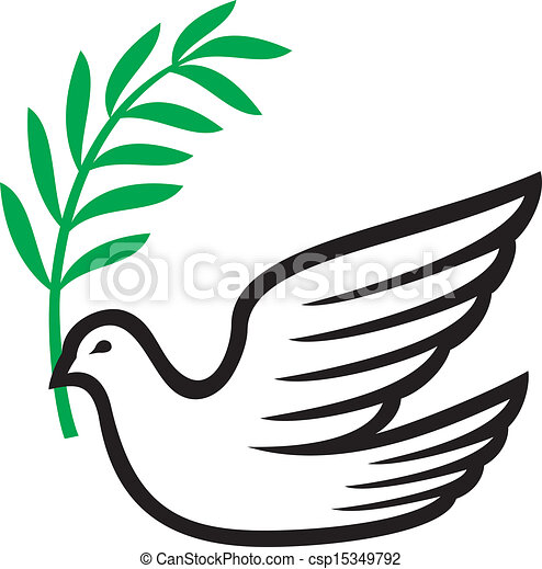 dove of peace - csp15349792