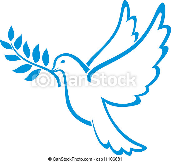 dove of peace  - csp11106681