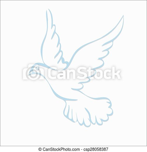 dove of peace - csp28058387