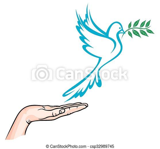 Dove of Peace - csp32989745