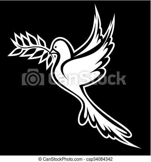 Dove of Peace - csp34084342