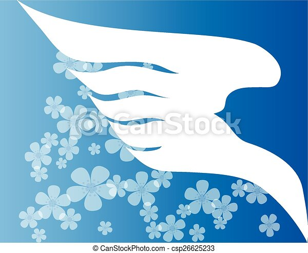 Dove of Peace - csp26625233