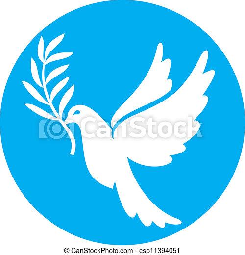 dove of peace (peace dove) - csp11394051