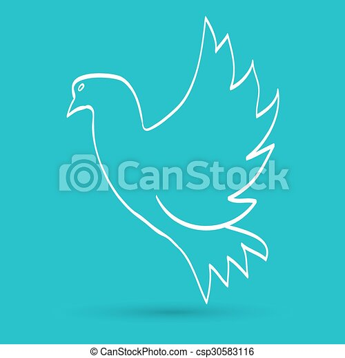 dove of peace - csp30583116