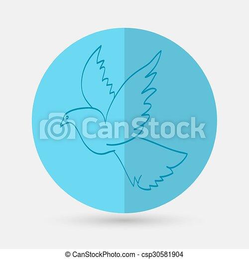 dove of peace - csp30581904