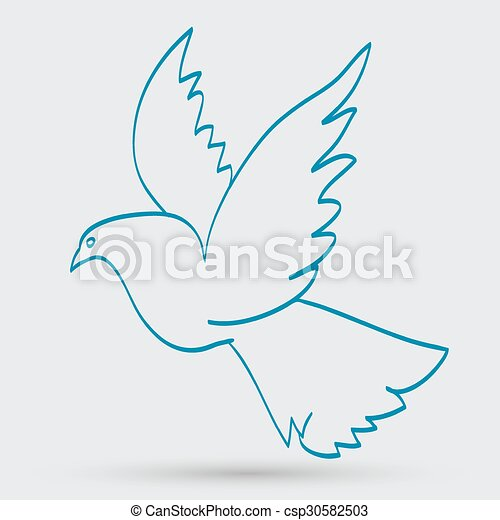 dove of peace - csp30582503