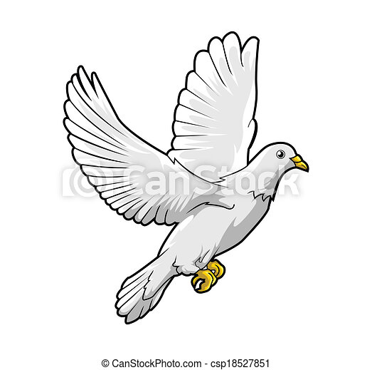 Dove Peace - csp18527851