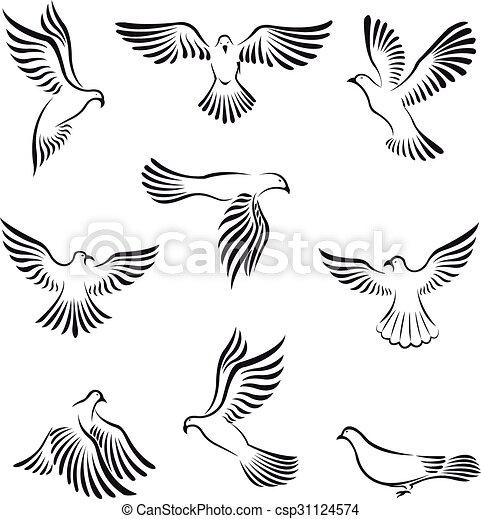 Dove peace - csp31124574