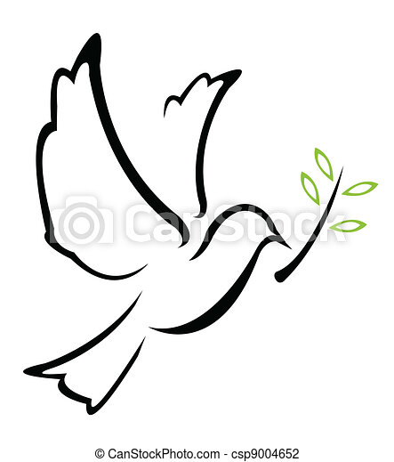 Dove Peace Vector - csp9004652
