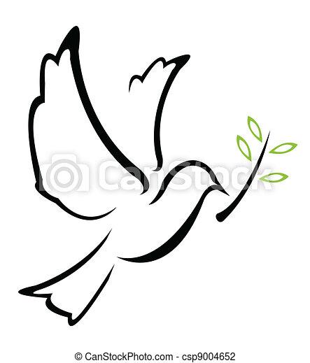 Dove Peace Vector - csp9004652