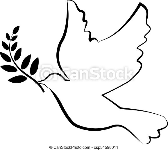dove with olive branch vector clip art search illustration rh canstockphoto com olive branch clip art borders free olive branch clipart black and white