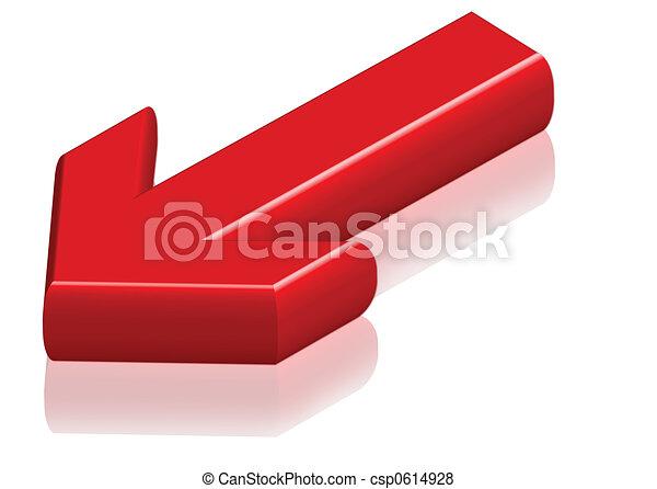 DOWN Arrow - csp0614928