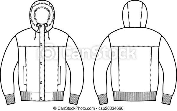 Down jacket - csp28334666