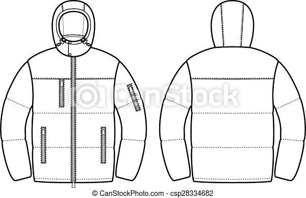 Down jacket - csp28334682