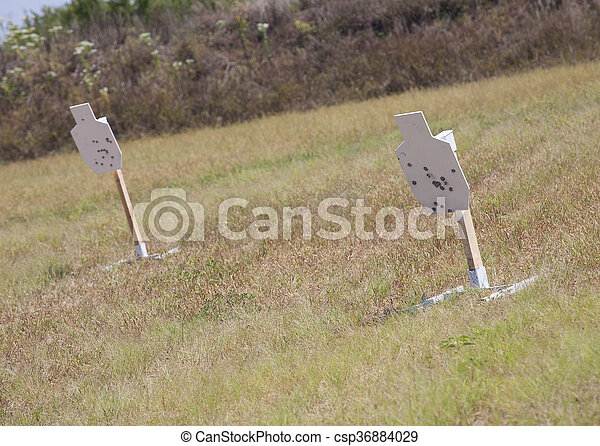 Down range - csp36884029