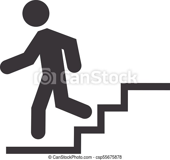 Down Stairs Icon   Csp55675878