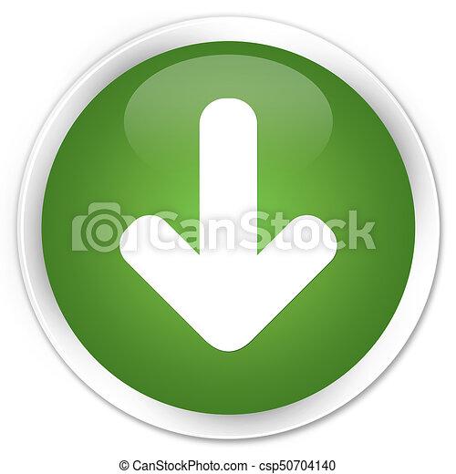 Download arrow icon premium soft green round button - csp50704140