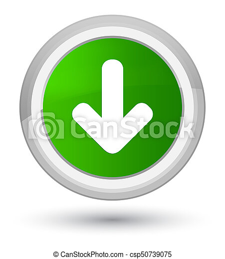 Download arrow icon prime green round button - csp50739075