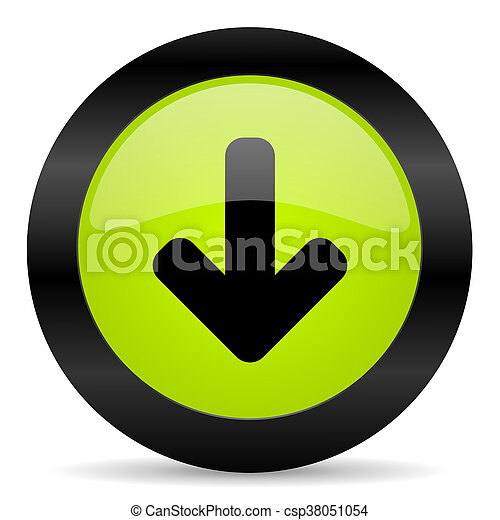 download arrow icon - csp38051054