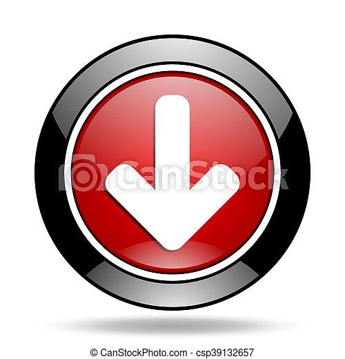 download arrow icon - csp39132657