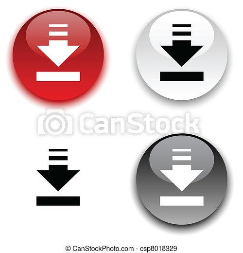 Download button. - csp8018329
