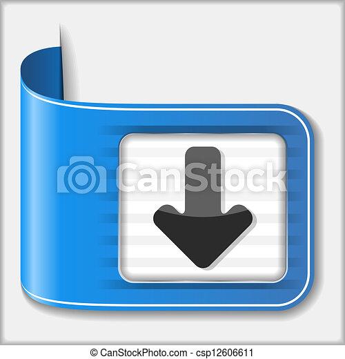 Download Button - csp12606611