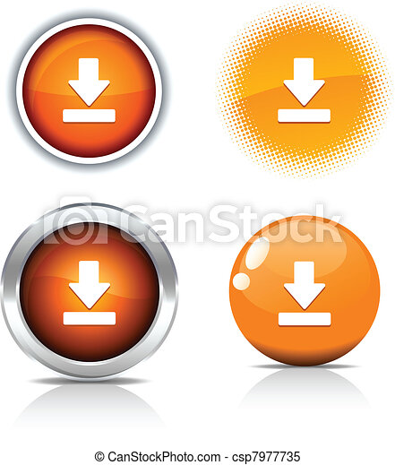 Download buttons. - csp7977735