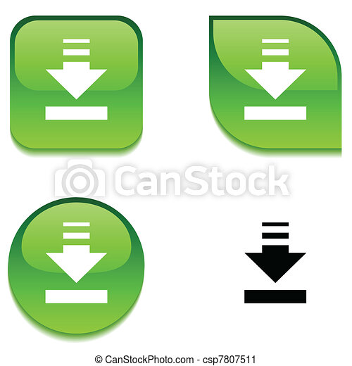 Download glossy button. - csp7807511