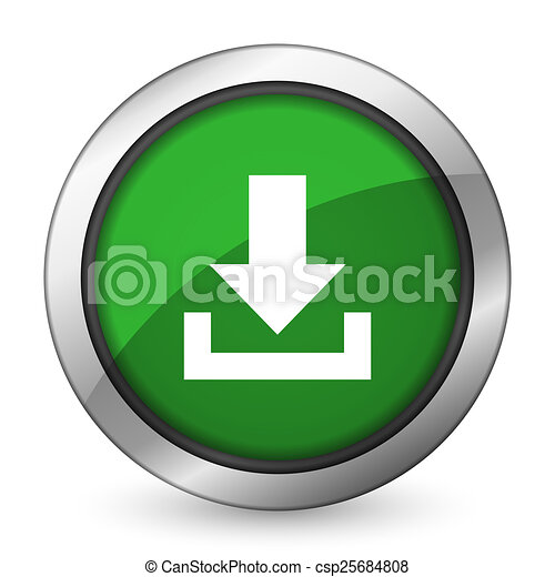 download green icon - csp25684808